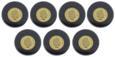 7 złotych monet seria Największe tajemnice świata (1)