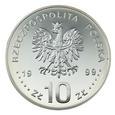 10 zł 1999, Władysław IV Waza, pólpostać_ Nr 9747
