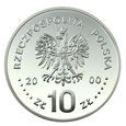 10 zł 2000, Jan Kazimierz, popiersie_Nr 9632