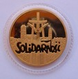 Polska - ZŁOTA  SOLIDARNOŚĆ 1990 - UNC