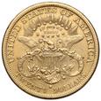 1458. USA 20 dolarów 1879-S, st.~4+