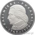 100 ZŁOTYCH 1976 - KAZIMIERZ PUŁASKI - MENNICZA-PROMO