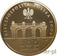 200 ZŁOTYCH 2008 - ODZYSKANIE NIEPODLEGŁOŚCI - STAN L