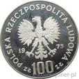 100 ZŁOTYCH 1975 - IGNACY JAN PADEREWSKI - MENNICZA
