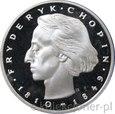 50 ZŁOTYCH 1972 - FRYDERYK CHOPIN '72 - MENNICZA