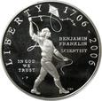 DOLLAR 2006 - USA - BENJAMIN FRANKLIN (NAUKOWIEC) - STAN L