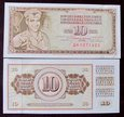 J1080 JUGOSŁAWIA 10 dinara 1968 UNC