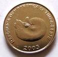 F15189 TIMOR WSCHODNI 1 centavo 2003 UNC