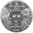 F16636 UKRAINA 5 hrywien 2009 BOKORASZ