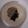 10 $ AUSTRALIA 2012 -10 oz ROK SMOKA LUNAR 2