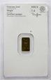 Złota sztabka - Heraeus - 1 gram Czystego Złota