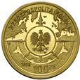 Polska 100 złotych 2008 - Osadnictwo Polskie - Złoto