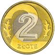 Polska 2 Złote 1994 - Stan 1, Mennicza