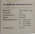 Niemcy 10 Marek 1990 F - Fryderyk I Barbarossa - Srebro +cert