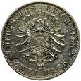 Niemcy (Prusy) 2 Marki 1888 A - Fryderyk III, Srebro