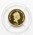 Pitcairn Islands, 10 Dollars 1999 Żaglowiec