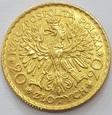 Polska 20 złotych 1925 r. Bolesław Chrobry