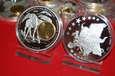LIBERIA 2002 1 dollar LUSTRZANKA WPROWADZENIE EURO + 10 CENTOW NIEMCY