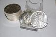 1 x  USA 1987 EAGLE  1 UNCJA 31.1 Gramm SREBRA 999