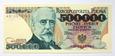 500000 zł Sienkiewicz 1990 ser.AD