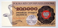 200000 złotych 1989 ser.D
