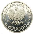 200000 złotych 1991 r. - Konstytucja 3 Maja