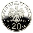 20 złotych 1996 r. - Tysiąclecie Miasta Gdańska