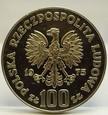 100 ZŁ ZAMEK KRÓLEWSKI W WARSZAWIE 1975