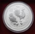 Rok Koguta (Year of the Rooster) 1 Uncja Srebra 2017