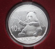 10 Yuan Chińska Panda 2017 30 gram AG