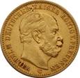 NIEMCY PRUSY 20 marek 1872 r. Wilhelm. Au 900