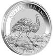 AUSTRALIA: 1 dolar 2018 EMU, 1 Oz Ag 999