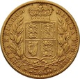 WIELKA BRYTANIA: Suweren 1863 r. Victoria