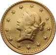 USA: 1 dolar 1853 rok. Fals