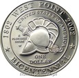 USA: 1 dolar 2002 rok. 200-LECIE AKADEMII W WEST POINT