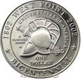 USA: 1 dolar 2002 rok. 200-LECIE AKADEMII W WEST POINT