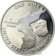USA: 1 dolar 1991 rok. KOREA