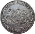 Śląsk, Talar 1658 rok  Brzeg, Trzej Bracia.