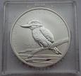 AUSTRALIA: 1 dolar 2007 r. Kukabura. Fabulous 12