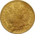 AUSTRIA: Dukat 1912 rok. Złoto 986, 3,49 g