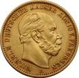 NIEMCY PRUSY 20 marek 1872 r. Wilhelm II. Au 900