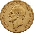 NIEMCY SAKSONIA 20 marek 1872 r. Au 900. (E)