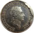 Poniatowski, złotówka próbna 1771 r.  UNC