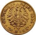 NIEMCY 20 marek 1884 r. Au 900. Hamburg (J)