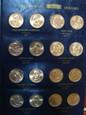 Zestaw monet 66 x 1 dolar PREZYDENCI USA