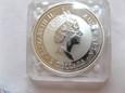 2 $ Australia 1998 Kookaburra 2 uncje srebra