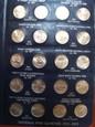 Zestaw monet 49 x 25 centów PARKI USA