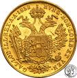 Austria 1 dukat 1852 A Franciszek Józef I st.1