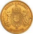 Węgry 10 koron 1892 Franciszek Józef I st. 2