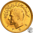 Iran 2 1/2 Pahlevi 1355 SH (1976 AD) st.1